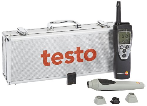 Testo 400563 6251 625 Digital Thermohygrometer Remote Probe Kit - 1