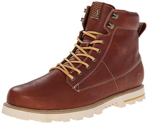volcom-smithington-boot-herren-kurzschaft-stiefel-braun-rust-44-eu