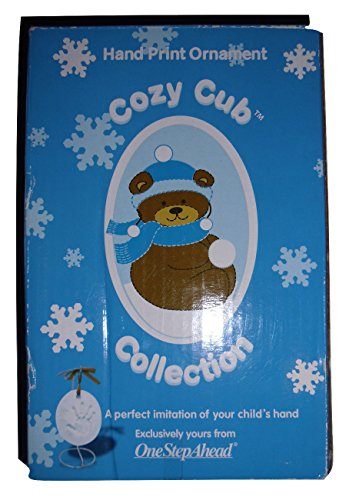 Hand Print Ornament Cozy Cub Collection Child Baby Imitation Display - 1