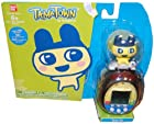 Tamagotchi Tamatown Black and Yellow Tama-go with Mametchi Gotchi Figure Charm