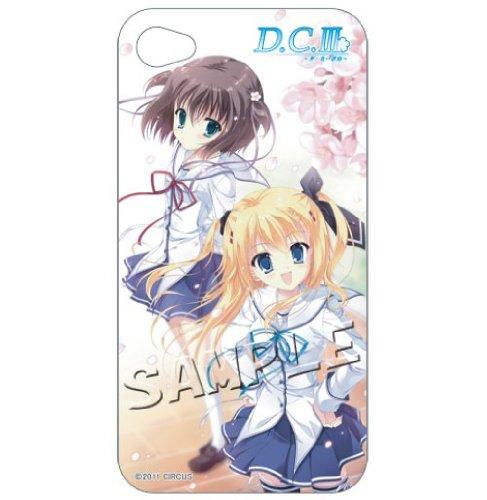 D.C.III スマートフォンカバー 立夏&姫乃 for iPhone4/4S