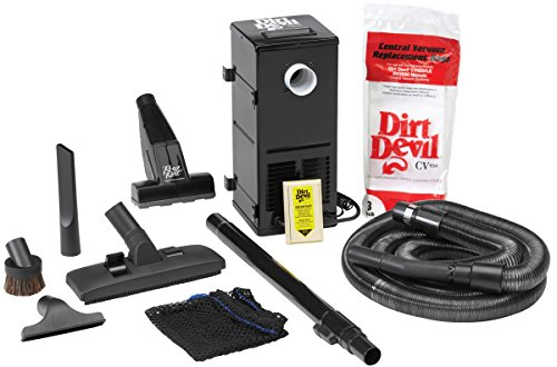 Cheapest Price! H-P Products 9614 Black All-in-One Central Vacuum System