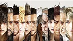 Final Fantasy Game Poster family silk wall print 43 inch x 24 inch