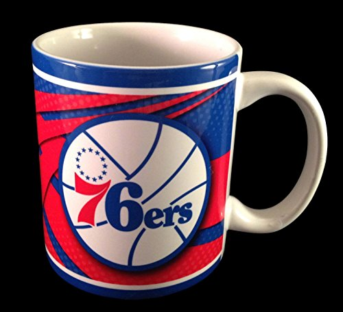 Philadelphia 76Ers Nba Ceramic 11 Oz. Coffee Mug
