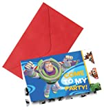 Disney Toy Story 3 Invitations (Pack Of 6)
