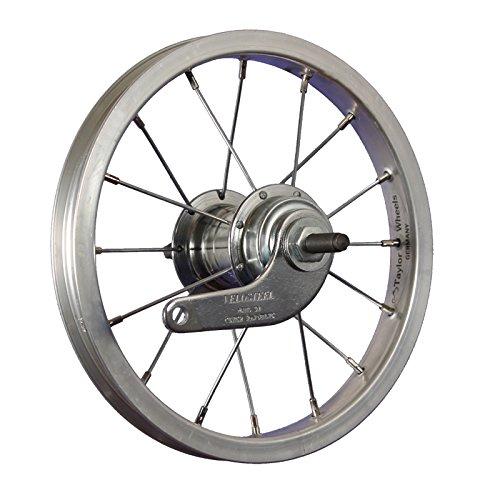 Taylor Wheels 12 Zoll Hinterrad Büchel Aluminiumfelge Velosteel Rücktrittnabe