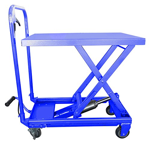 hu-lift-equipment-tc22p-mobile-scissor-lift-table-500-pound-capacity-9-1-4-inch-to-28-1-2-inch-heigh