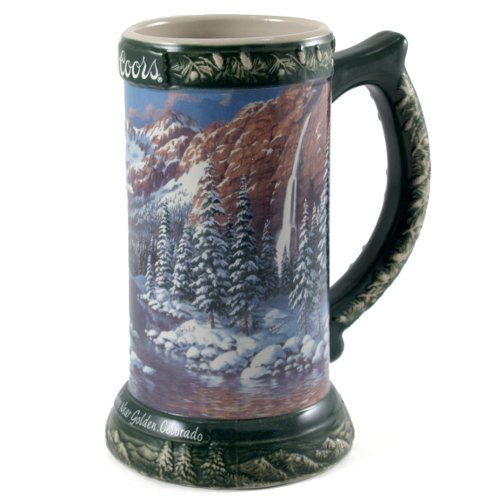 Coors Somewhere Near Golden Colorado Collectible Beer Stein