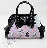 IRON FIST Ladies Handbag Purse LAMBY Cute Goth Lambs Purple