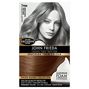 John Frieda Precision Foam Colour Salon Blends 7PBN Dark Cool Pearl Blonde