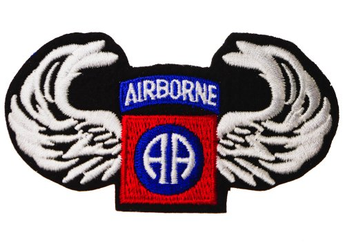 Us Army 82Nd Airborne All-American Aa Wings Patch