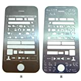 iPhone Stencil Kit - UI Stencils