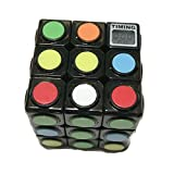 NEW Rubiks Cube with Built-in Timer/ Includes Free Batteries