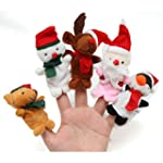 5PCS A SET Finger Puppet/Dolls/Toys S...