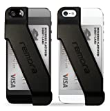 Remora iPhone5/5s用カードホルダーケース カードケース for iPhone 5/5s (Obsidian Black)