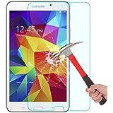 Samsung Galaxy Tab 4 7.0 Screen Protector, OMOTON® Tempered Glass Screen Protector for Galaxy Tab 4 7-inch with [Anti Explosion] [9H Hardness] [High Definition] [Scratch Resist][Lifetime warranty]