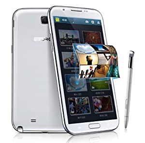 BW® STAR N9599T - 5.7 inch HD (1280*720 pixels) Huge Screen Tablet Phone Android 4.2 MTK6589T Quad Core 1.5GHz Smartphone with 2G RAM 32G ROM GPS WiFi and Hand-Write Stylus -- White