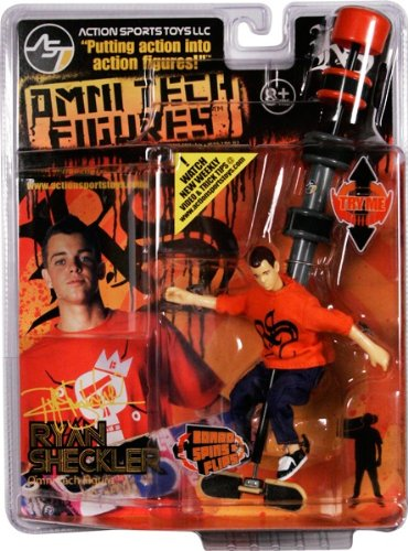 Buy Low Price Action Sports Action Sports Toys MB101 Ryan Sheckler Skateboard Action Figure (B004DS0YQA)