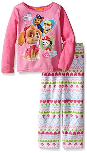 Nickelodeon Toddler Girls' Paw Patrol 2-Piece Pajama Set
