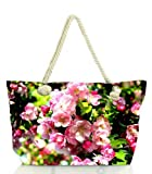 #8: Snoogg Flowers In An Branch Women Anchor Messenger Handbag Shoulder Bag Lady Tote Beach Bags Blue