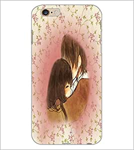 PrintDhaba Couple D-4202 Back Case Cover for APPLE IPHONE 6S PLUS (Multi-Coloured)