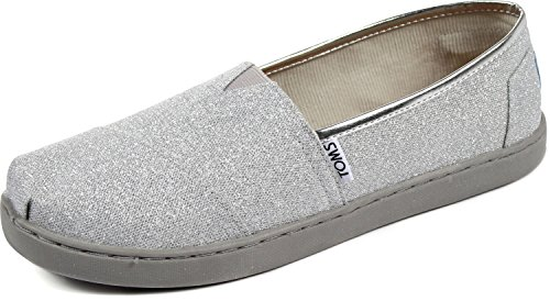 Youth TOMS Classic Glimmer Casual Shoe