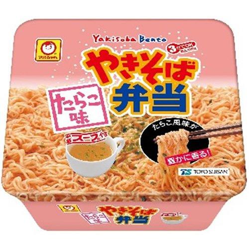 【東北・信越地区限定】マルちゃん やきそば弁当 たらこ味 123g×12個