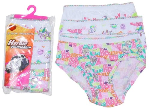 "Buy Disney's ""Herbie Fully Loaded"" Girls' 3-Pack Hipster Underwear by Hanes"