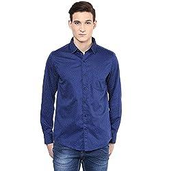 RICHLOOK Casual Blue Shirt