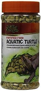 Zilla 11674 Fortified Aquatic Turtle Food, 6-OunceBottle