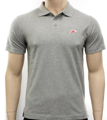 Nike Mens Grey Polo Shirt