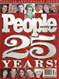 img - for Princess Diana, Harrison Ford, Elizabeth Taylor, Madonna, Tom Cruise - March 16-22, 1999 People 25th Special Anniversary Issue [340 Pages] book / textbook / text book