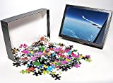 Photo Jigsaw Puzzle of Airplane flying o...