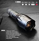 Bell + Howell 1176 Taclight As Seen On Tv by Bell+Howell High-Powered Tactical Flashlightwith5 Modes & Zoom Function,