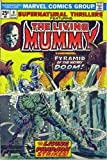 img - for Supernatural Thrillers Featuring The Living Mummy (Vol. 1 No. 9, October 1974) (Pyramid Of Peril!) book / textbook / text book