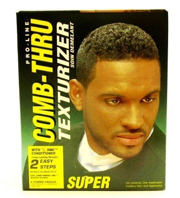 Pro-Line Comb Thru Texturizer Super Boxed (3-Pack) with Free Nail File