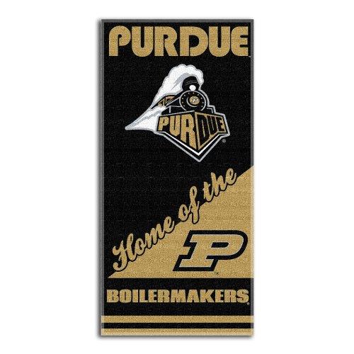Ncaa Purdue Boilermakers Home Beach Towel, 28 X 58-Inch