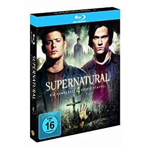 BD * Supernatural - Staffel 4 [Blu-ray] [Import allemand]