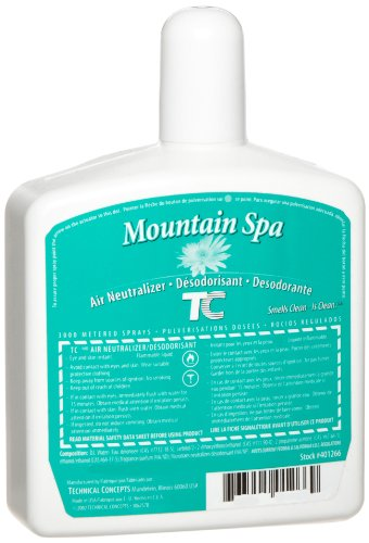 Rubbermaid Commercial / Technical Concepts (Tc) Fg401266 Refill For Pump System Automatic Dry Spray Odor Control Dispenser, Mountain Spa
