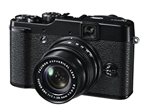 Fujifilm X10 Fotocamera Digitale 12 MP, Sensore CMOS EXR 2/3 Pollici, Zoom 4x 28-112 mm, f/2.0-2.8, Stabilizzatore Ottico