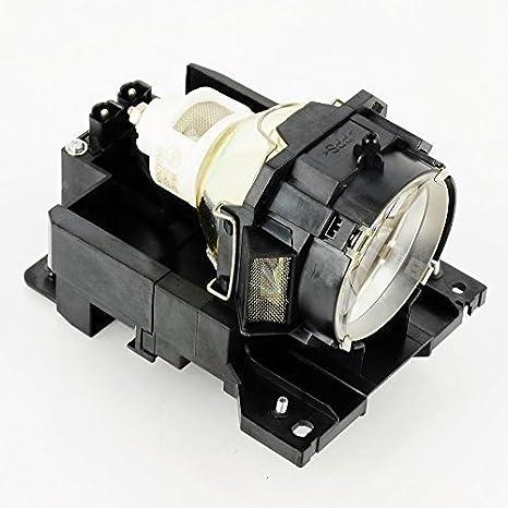 haiwo DT00771/cpx605wlamp de haute qualité Ampoule de projecteur de remplacement compatible avec boîtier pour Hitachi CP-X505/X600/X605/X608.