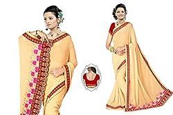 Women's Sahi Chiffon Designer Sarees