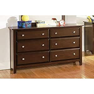 Coaster home furnishings transitional dresser cappuccino home kitchen Home furniture on amazon