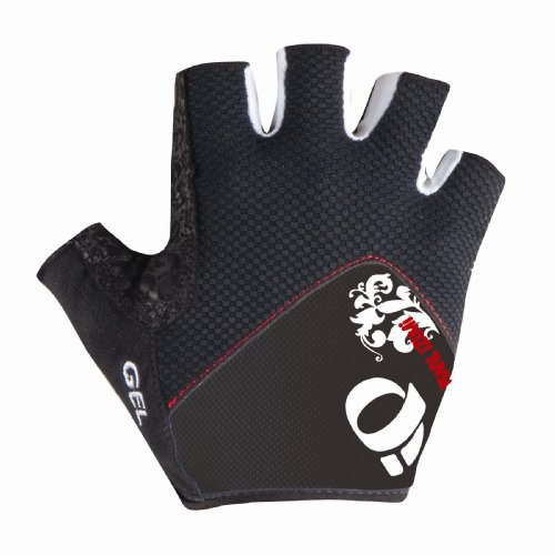 Pearl iZUMi Women's P.R.O. Pittards Gel Glove,Black,Medium