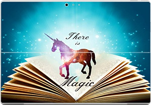there-is-magic-quote-spell-book-unicorn-design-print-image-surface-pro-3-vinyl-decal-sticker-skin-by