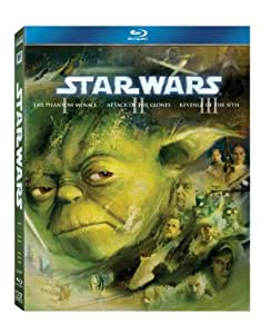 Star Wars: The Prequel Trilogy (Episodes I-III) [Blu-ray] [1999]