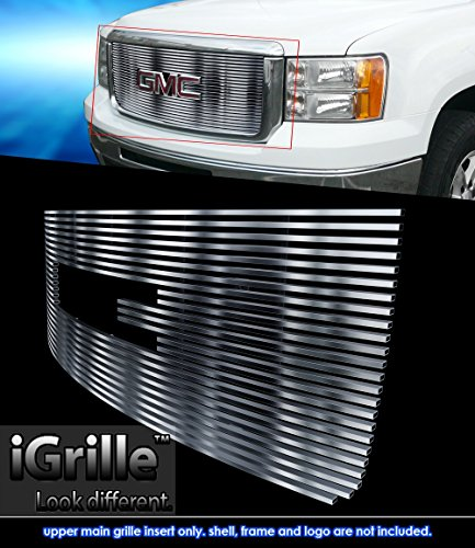 Stainless Steel eGrille Billet Grille Grill For 2007-2013 GMC Sierra Denali 1500 Insert (Gmc Grill 2010 compare prices)