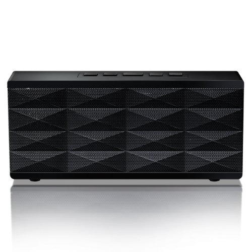 Eagle Tech Arion Portable Bluetooth Speaker With Built-In Speakerphone (Black)