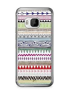 YuBingo Zig Zag Pattern Mobile Case Back Cover for HTC One M9