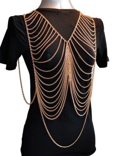 Gold Body Chain Jewelry